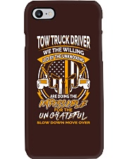 TOW TRUCK DRIVER THE WILLING Phone Case thumbnail