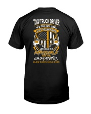 TOW TRUCK DRIVER THE WILLING Classic T-Shirt thumbnail