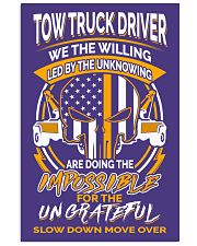 TOW TRUCK DRIVER THE WILLING 24x36 Poster thumbnail