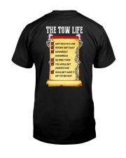 THE TOW LIFE CHECKLIST Classic T-Shirt back