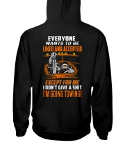 I'M GOING TOWING Hooded Sweatshirt back