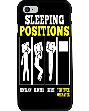 TOW OP SLEEPING POSITIONS Phone Case thumbnail