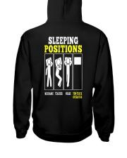 TOW OP SLEEPING POSITIONS Hooded Sweatshirt thumbnail