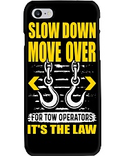 SLOW DOWN MOVE OVER FOR TOW OPS Phone Case thumbnail