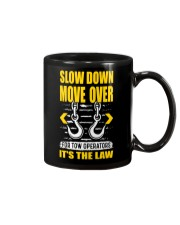SLOW DOWN MOVE OVER FOR TOW OPS Mug thumbnail