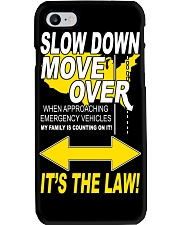 SLOW DOWN MOVE OVER IT'S THE LAW - US Phone Case thumbnail