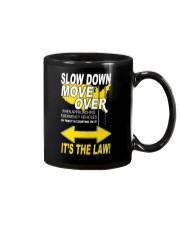 SLOW DOWN MOVE OVER IT'S THE LAW - US Mug thumbnail