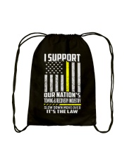 I SUPPORT OUR NATION'S TOWING RECOVERY INDUSTRY Drawstring Bag thumbnail