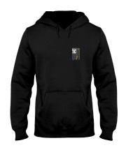 NO ONE FIGHTS WITHOUT DISPATCHERS Hooded Sweatshirt front