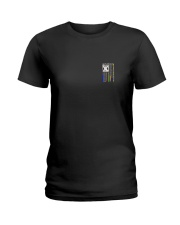NO ONE FIGHTS WITHOUT DISPATCHERS Ladies T-Shirt thumbnail