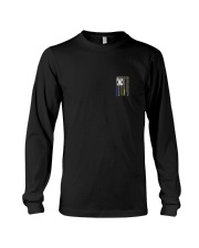 NO ONE FIGHTS WITHOUT DISPATCHERS Long Sleeve Tee thumbnail