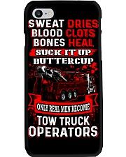 Real Men - Heavy Tow Truck Phone Case thumbnail