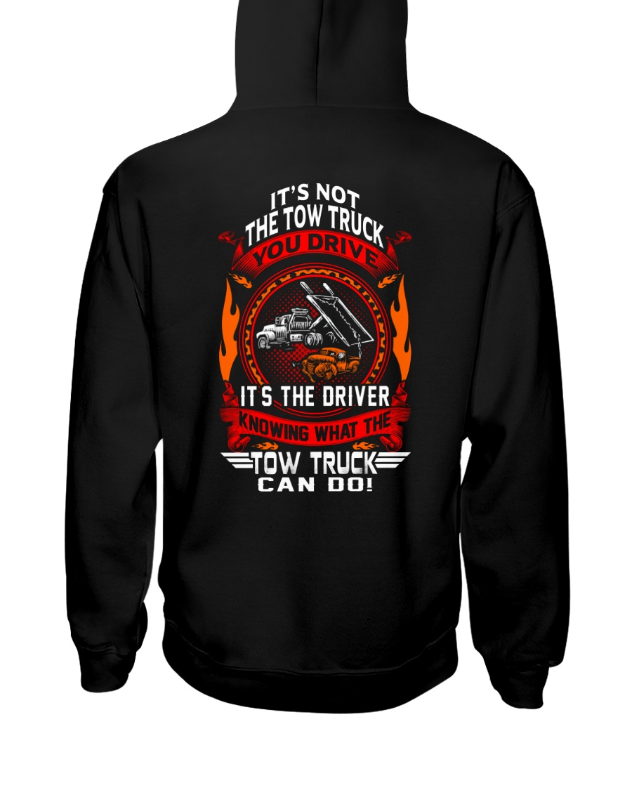 Not The Truck It's The Driver Hooded Sweatshirt