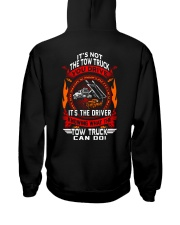 Not The Truck It's The Driver Hooded Sweatshirt back