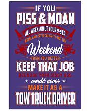 TOW TRUCK DRIVER PMWC 24x36 Poster thumbnail