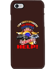 TOW TRUCK OPERATOR SUPPORTING LAW ENFORCEMENT Phone Case thumbnail
