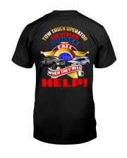 TOW TRUCK OPERATOR SUPPORTING LAW ENFORCEMENT Classic T-Shirt thumbnail
