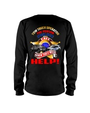 TOW TRUCK OPERATOR SUPPORTING LAW ENFORCEMENT Long Sleeve Tee thumbnail
