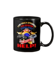 TOW TRUCK OPERATOR SUPPORTING LAW ENFORCEMENT Mug thumbnail
