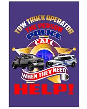 TOW TRUCK OPERATOR SUPPORTING LAW ENFORCEMENT 24x36 Poster thumbnail