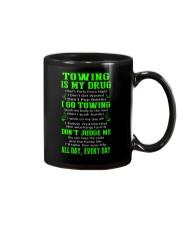 TOWING IS MY DRUG Mug thumbnail