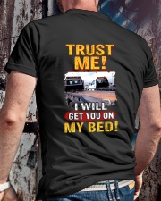 ON MY BED 2 Classic T-Shirt lifestyle-mens-crewneck-back-2