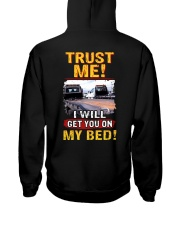 ON MY BED 2 Hooded Sweatshirt thumbnail