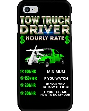 Tow Truck Driver Hourly Rate Snatch Phone Case thumbnail