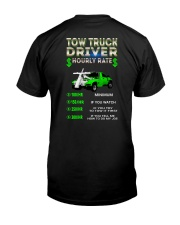 Tow Truck Driver Hourly Rate Snatch Classic T-Shirt thumbnail