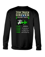Tow Truck Driver Hourly Rate Snatch Crewneck Sweatshirt thumbnail