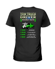 Tow Truck Driver Hourly Rate Snatch Ladies T-Shirt thumbnail