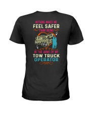 IN THE ARMS OF MY TOW TRUCK OPERATOR HEAVY Ladies T-Shirt thumbnail