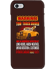 TOW TRUCK DRIVER OFFENSIVE LANGUAGE Phone Case thumbnail