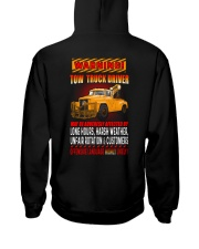 TOW TRUCK DRIVER OFFENSIVE LANGUAGE Hooded Sweatshirt thumbnail