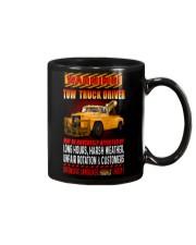 TOW TRUCK DRIVER OFFENSIVE LANGUAGE Mug thumbnail