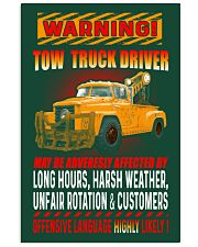 TOW TRUCK DRIVER OFFENSIVE LANGUAGE 24x36 Poster thumbnail