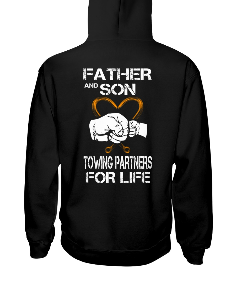 TOWING PARTNERS FOR LIFE SON Hooded Sweatshirt