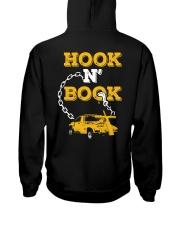 Hook N' Book Repo Agent Hooded Sweatshirt back
