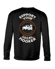 Support Your Local Hooker - Snatch Crewneck Sweatshirt thumbnail