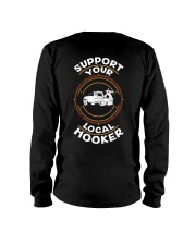 Support Your Local Hooker - Snatch Long Sleeve Tee thumbnail