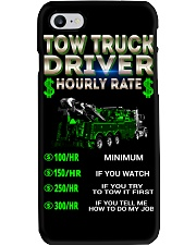 Tow Truck Driver Hourly Rate Heavy Phone Case thumbnail