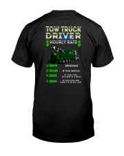 Tow Truck Driver Hourly Rate Heavy Classic T-Shirt tile