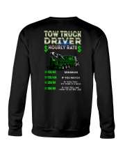 Tow Truck Driver Hourly Rate Heavy Crewneck Sweatshirt thumbnail