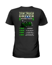 Tow Truck Driver Hourly Rate Heavy Ladies T-Shirt tile