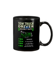 Tow Truck Driver Hourly Rate Heavy Mug tile