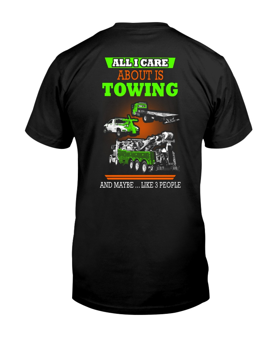 TOWING AND 3 PEOPLE - HIS Classic T-Shirt