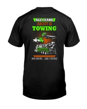 TOWING AND 3 PEOPLE - HIS Classic T-Shirt back