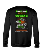 TOWING AND 3 PEOPLE - HIS Crewneck Sweatshirt thumbnail