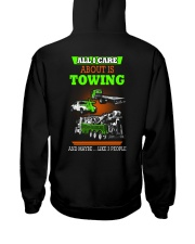 TOWING AND 3 PEOPLE - HIS Hooded Sweatshirt thumbnail