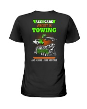 TOWING AND 3 PEOPLE - HIS Ladies T-Shirt thumbnail